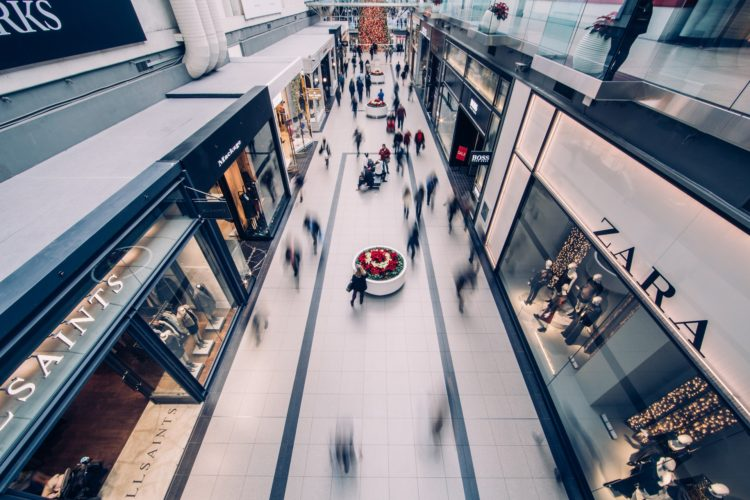 Image of retail shoppers