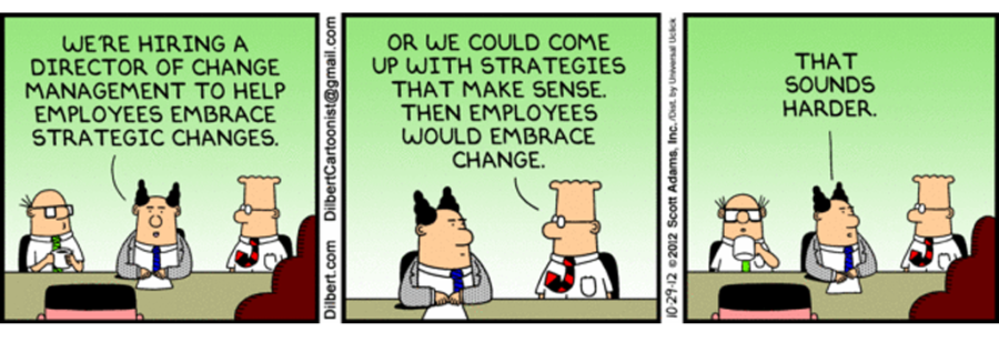 Change management in S&OP