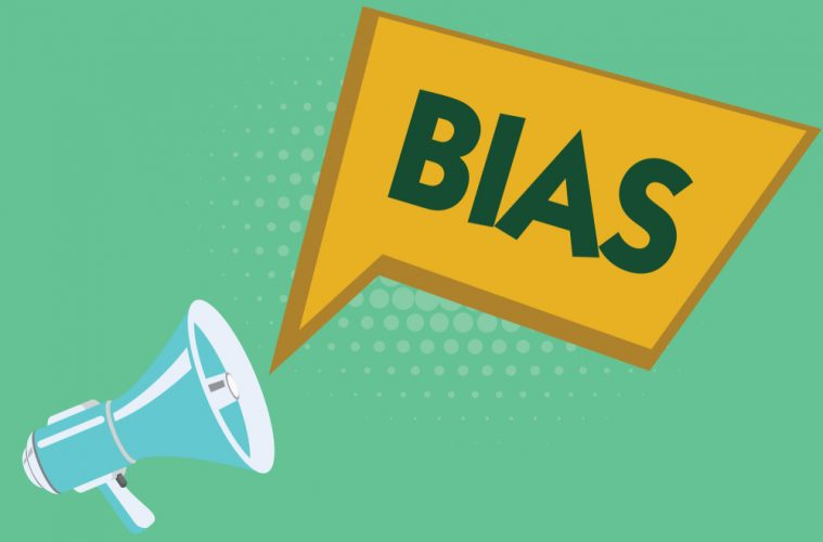 "image with text saying ""bias"""