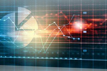 Abstract image of graphs representing data analysis profiling