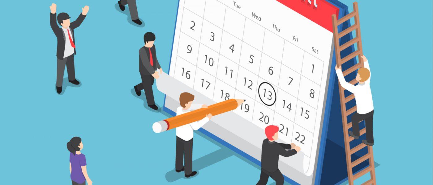 S&OP calendar