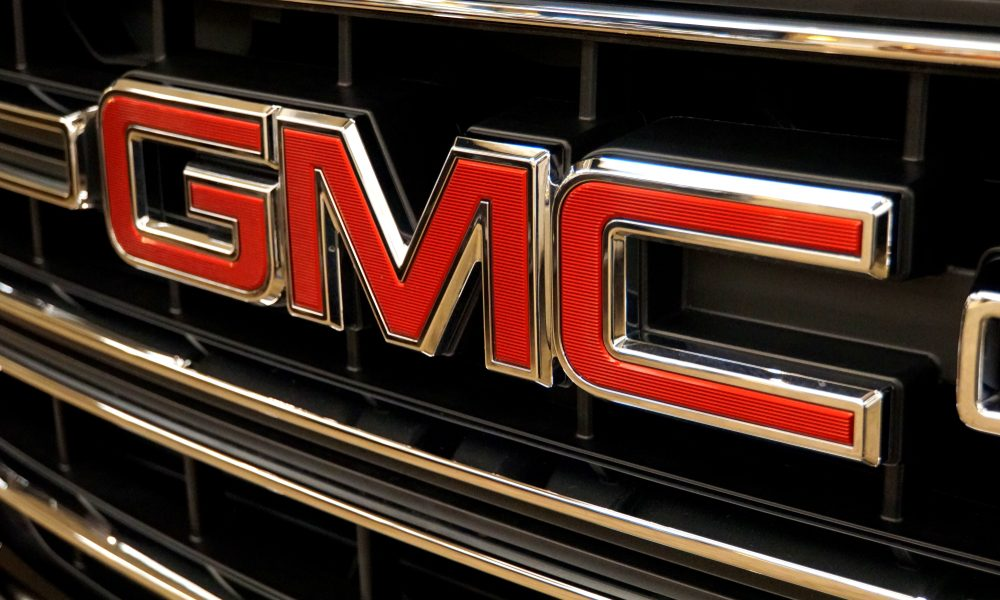Image of GMC car grille